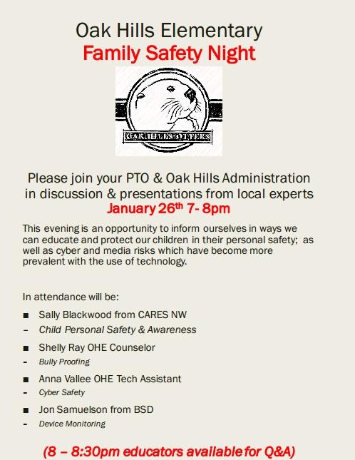 OHE Safety Night